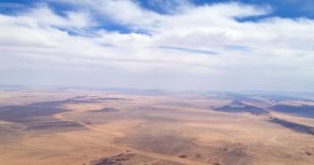 Il deserto del Sahara visto dall'alto (foto. http://www.vfrmagazine.net/)