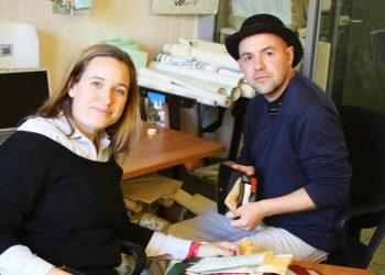Melina Benetton e Nicolas Dorosz di Volverup