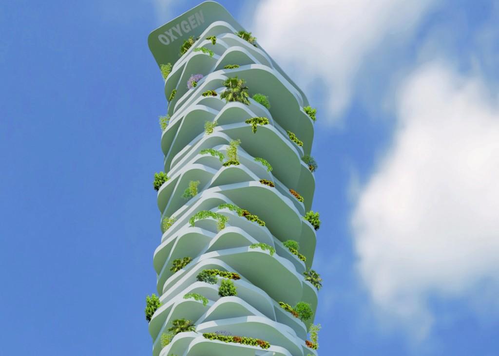 L'Oxygen Eco-Tower (foto: http://www.progettarearchitettura.it/)