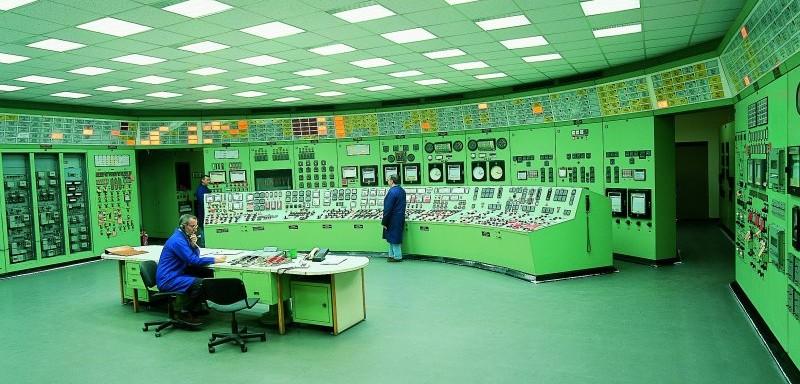 La sala di controllo della centrale di Trino (foto: sogin.it)