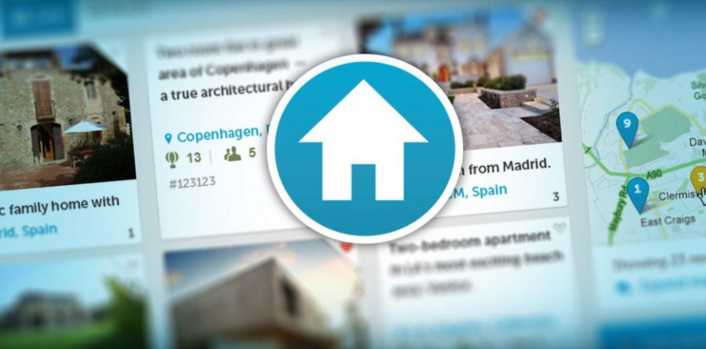 Un banner del sito HomeExchange.com