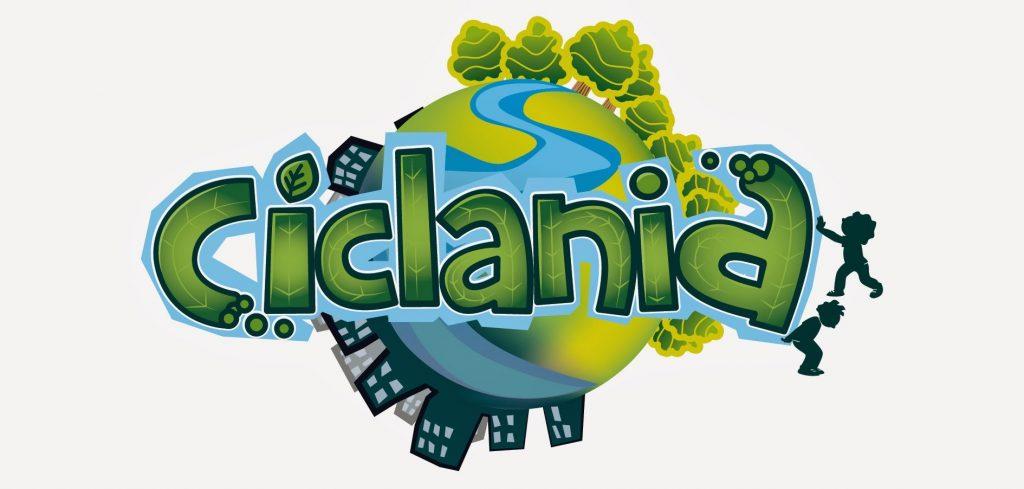Il logo del videogioco Ciclania
