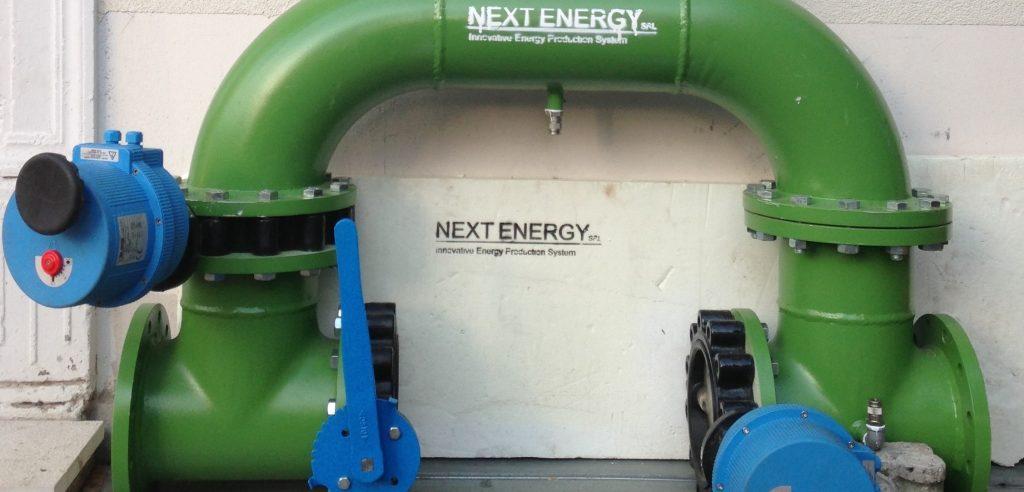 Il prototipo dell'impianto Giralog della società Nextenergy