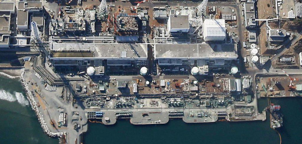 La centrale nucleare di Fukushima (foto: www.japantimes.co.jp)