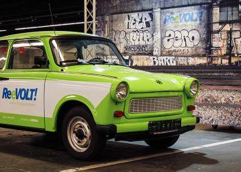 La nuova Trabant elettrica col motore ReeVolt (foto: www.motor-talk.de)