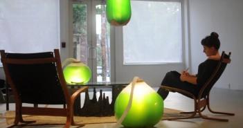 Le installazioni Living Things presso The Mattress Factory (foto: vimeo)