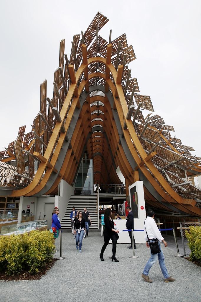 Expo Milano, il Padiglione della Cina