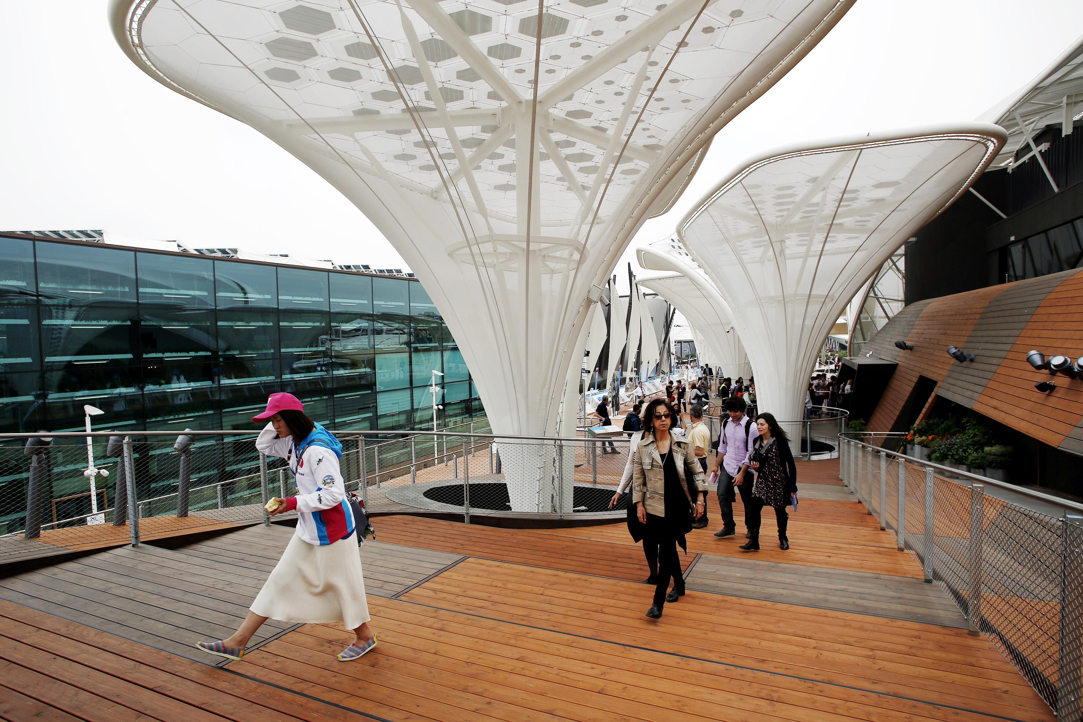Falmec Per Expo Milano 2015 : Expo milano in volo sulla germania con il padiglione