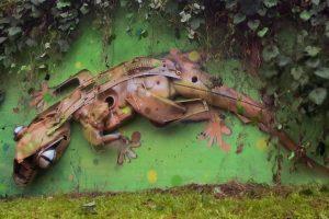 Una creazione dell'artista Bordalo II (foto: urbanshit.de)
