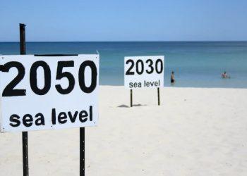 L'innalzamento del livello dei mari (foto: www.meteoweb.eu)