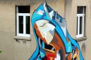 Una creazione dell'artista Stefaan De Croock aka Strook (foto: mymeedia.com)