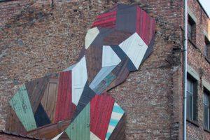 Una creazione dell'artista Stefaan De Croock aka Strook (foto: www.contemporist.com)