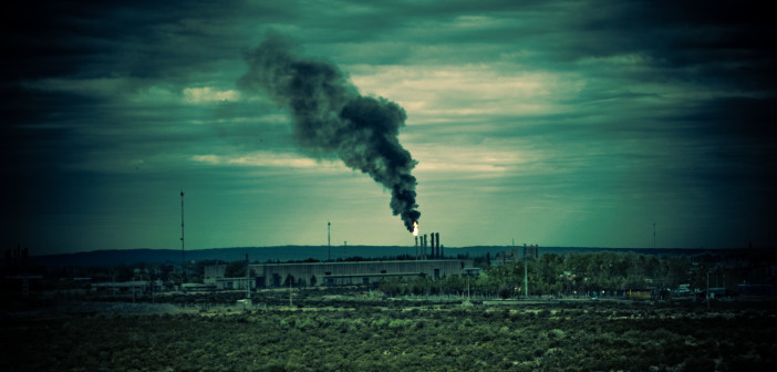 Un impianto inquinante (foto: www.linfalab.it)
