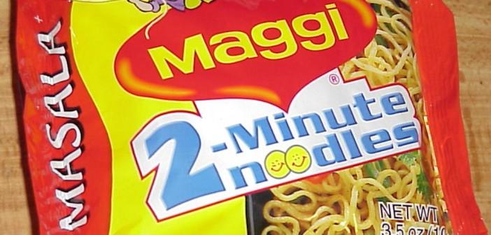 Una confezione di noodles Maggi (foto: www.foodmanufacture.co.uk)