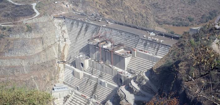 diga sul fiume Omo in Etiopia