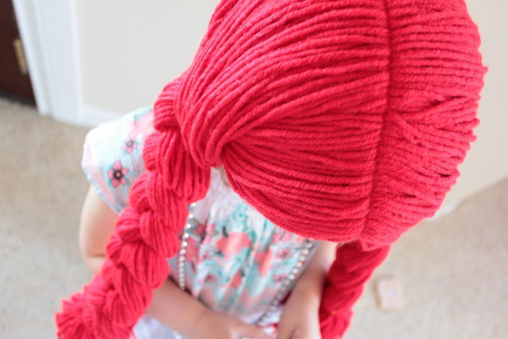 Parrucca di carnevale in lana