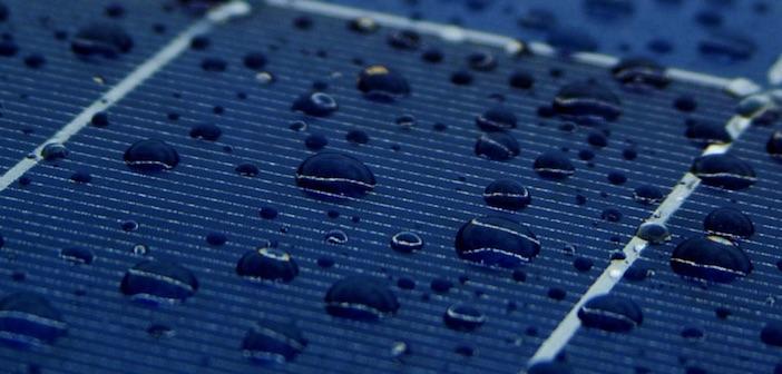 fotovoltaico pioggia