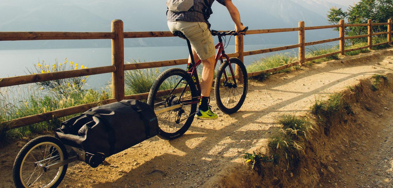 Pannello Solare Per Bicicletta : Bike trolley sentier dal trentino una rivoluzione per i