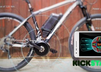 Bikee Bike ebike - Kickstarter launch June 15th