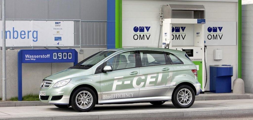 Un distributore di idrogeno in Germania