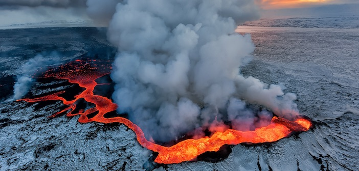 geotermia dai vulcani