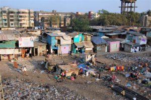 Slum indiano