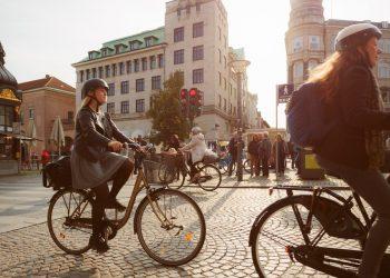 Copenaghen, una città a misura di bici