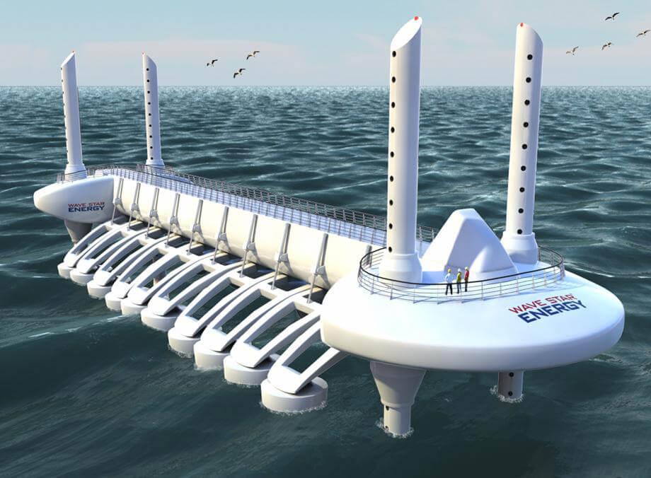 df46499ea5c Dal moto ondoso all elettricità  Ecco le piattaforme Wave Star -