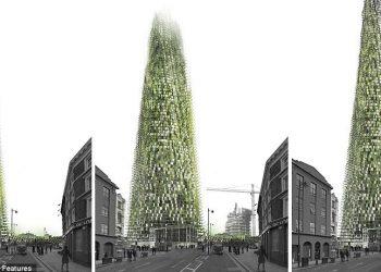 un progetto di architettura organica è ultimamente al centro dell'attenzione di riviste specializzate e degli architetti londinesi: è l'organic skyscraper