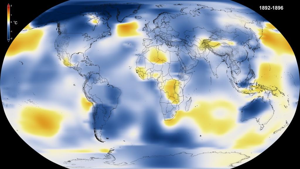 Secondo due analisi condotte della Nasa e della NOAA il 2016 è stato l'anno che ha fatto registrare temperature record sulla superficie terrestre
