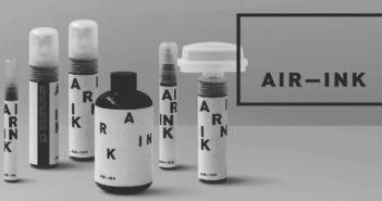 inchiostro ricavato dallo smog