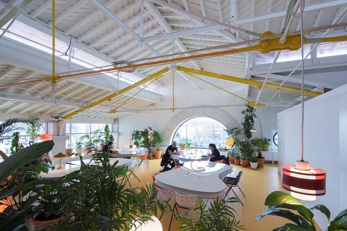 Piante Ufficio Open Space : Uffici verdi il coworking di lisbona popolato di piante green.it