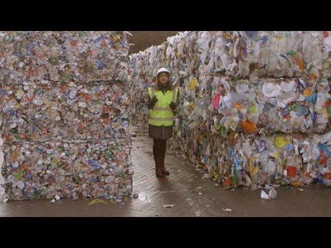 piattaforma di smaltimento rifiuti