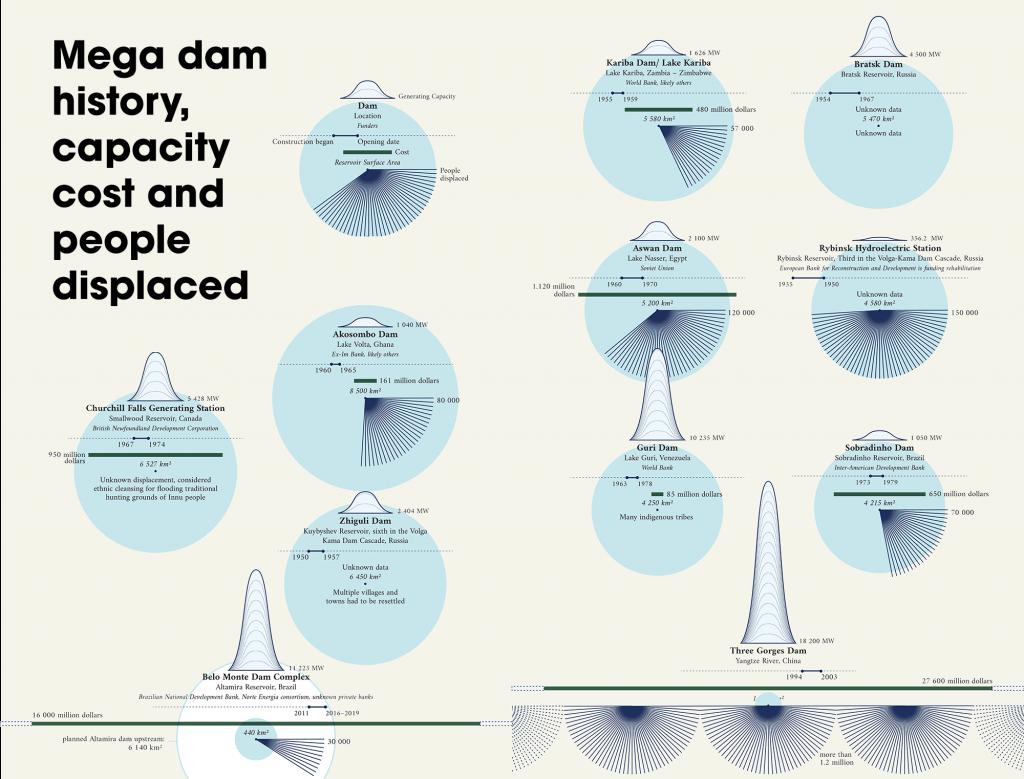 impatto ambientale delle dighe