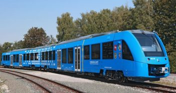 treno alimentato ad idrogeno