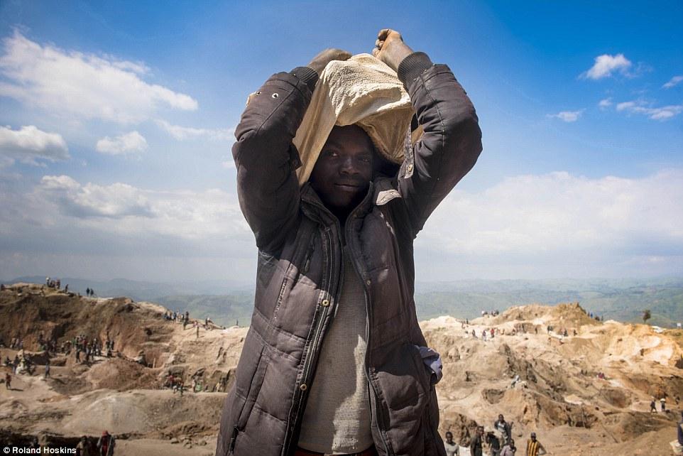 estrazione mineraria in africa