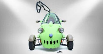 auto elettrica a tre ruote