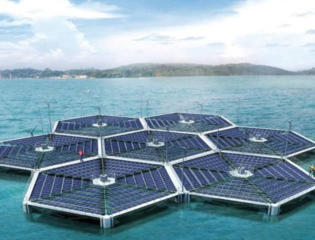 parco solare galleggiante