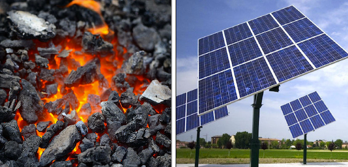 fotovoltaico soppianterà il carbone