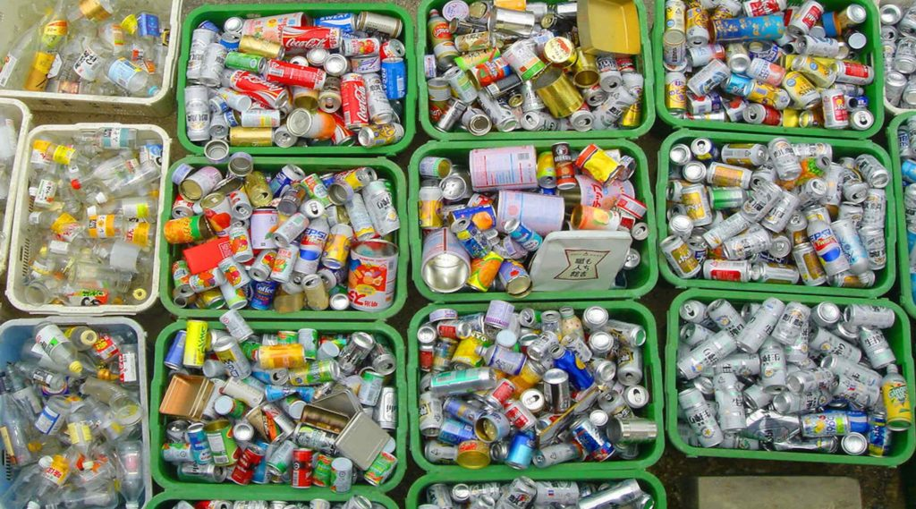Giappone e i rifiuti urbani