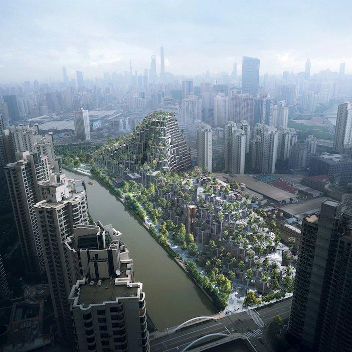 edifici ricoperti di verde