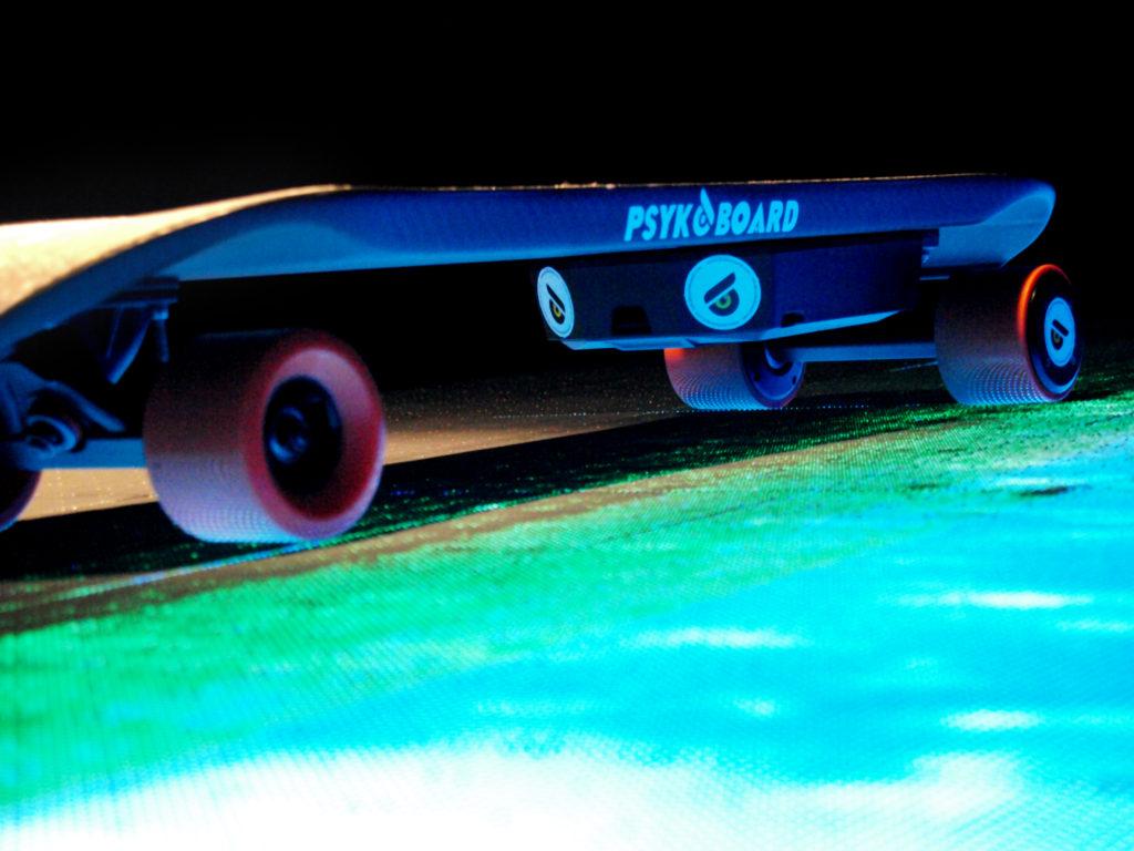 skateboard elettrico italiano