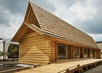 casa in legno di cedro