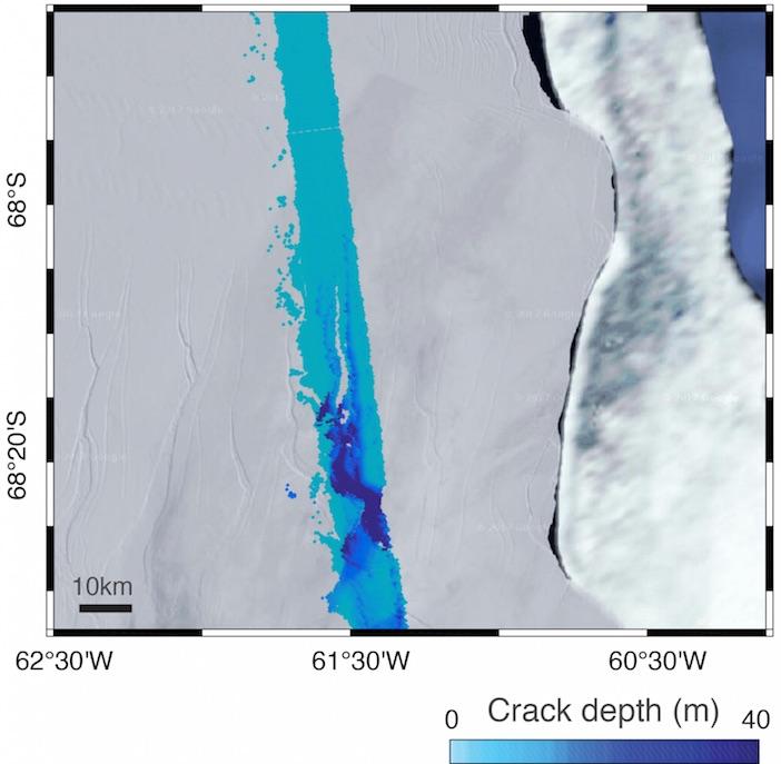 effetti climatici in Antartide