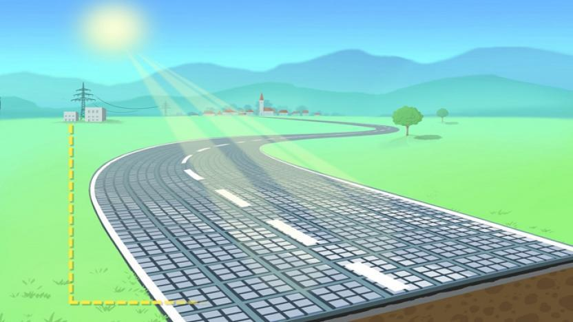 manto stradale solare