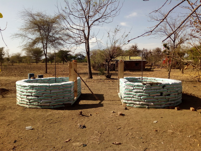 costruire con materiali di riciclo
