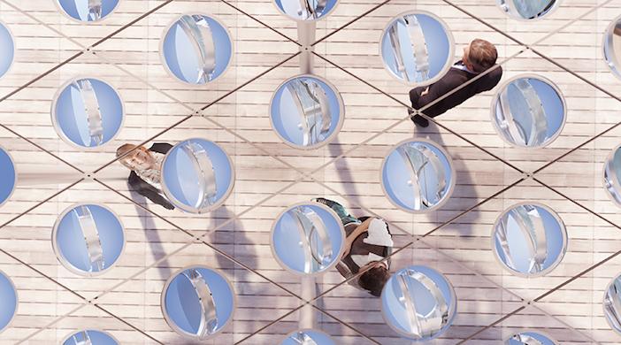 Facciata che produce energia: la tettoia Sun&Shade di Carlo