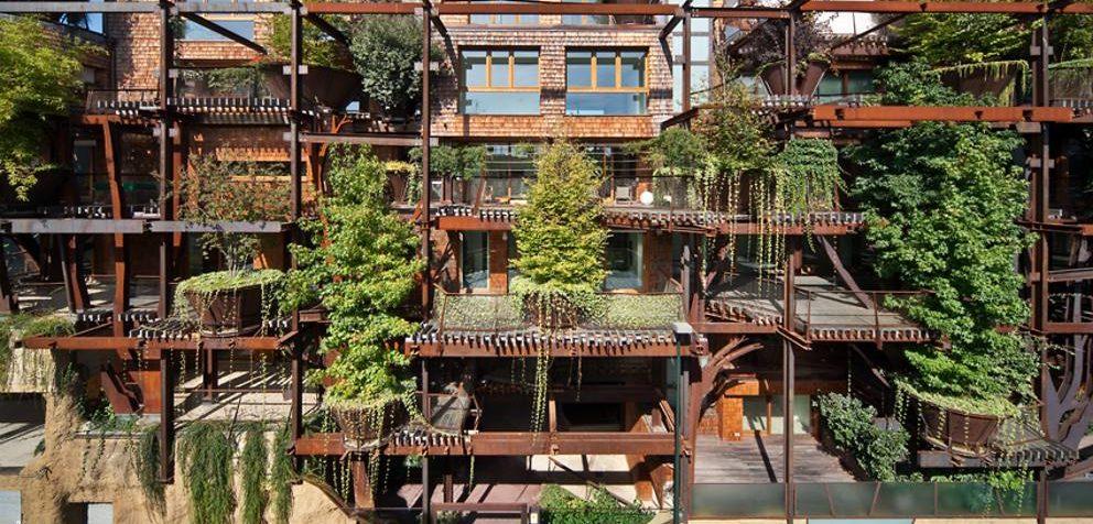 Condominio 25 verde, un palazzo foresta in centro a Torino - Green.it