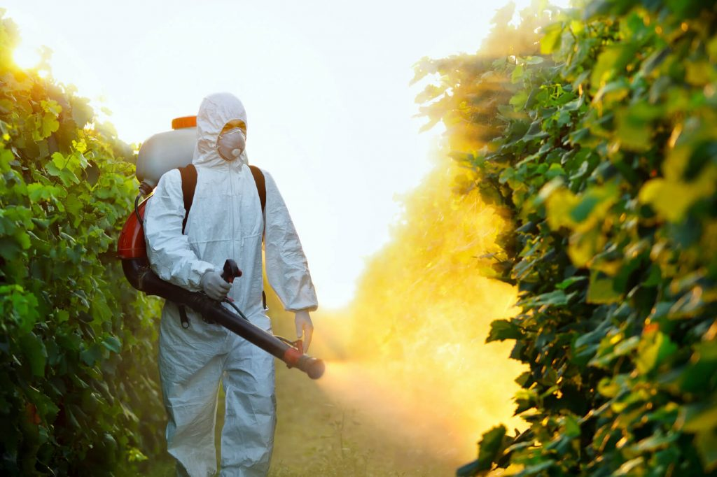Smaltimento dei pesticidi: una startup americana riesce ad eliminarli direttamente sul campo