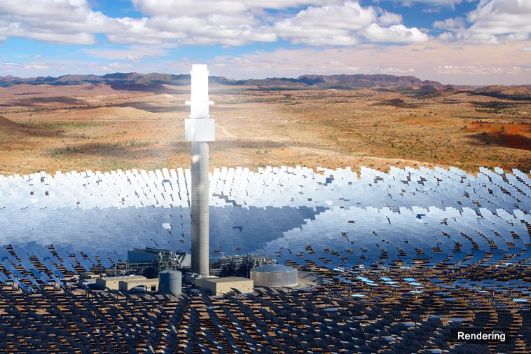 produzione energetica solare termica